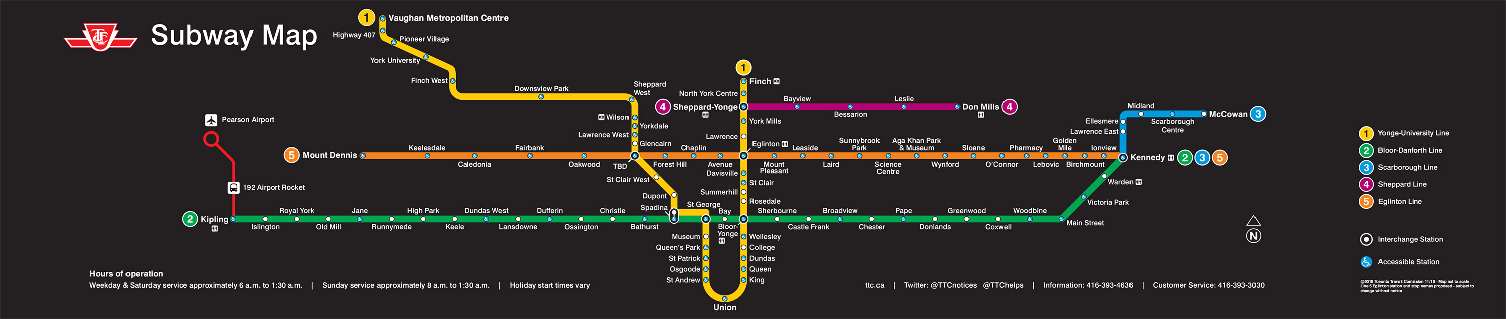 First Look: New TTC Map ...